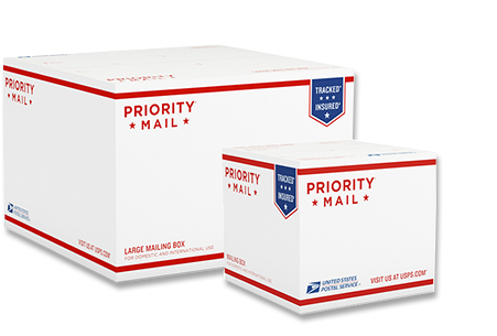 USPS Priority Mail boxes