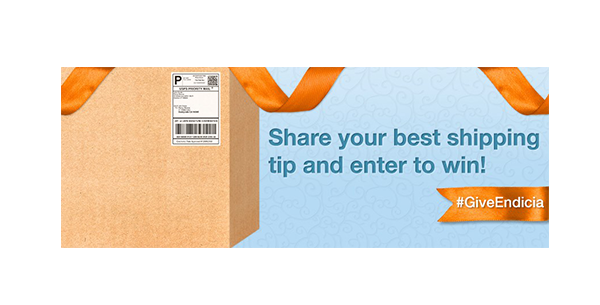 Share your best shipping top and enter to win! #GiveEndicia