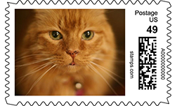 custom photo postage