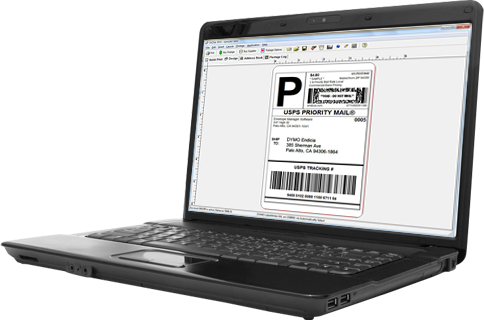 Endicia Standard: Print USPS Shipping Labels from your desk