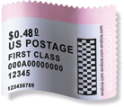 DYMO Stamps Labels