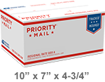 Priority Mail Regional Rate Box A1 | Endicia Supplies Store