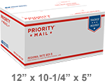 Priority Mail Regional Rate Box B1 | Endicia Supplies Store