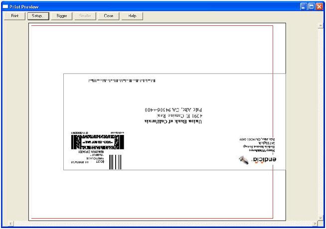 Configuring DAZzle for Envelopes | Endicia