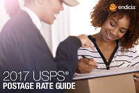 2017 USPS Postage Rate Guide cover