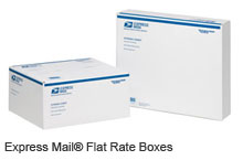 Express Mail Flat Rate Boxes