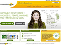 MonTimbrenLigne, La Poste screenshot