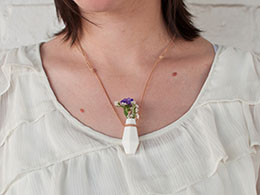 Wearable Planter 3-D printed jewelry